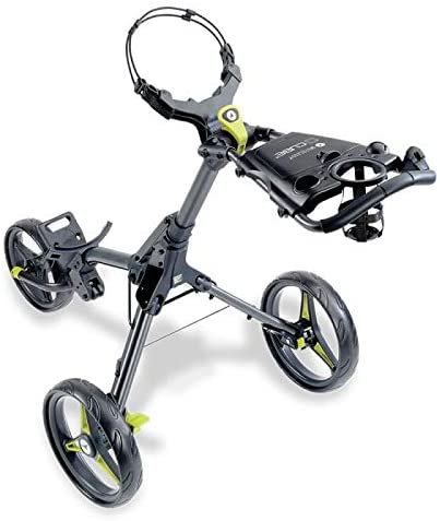 Motocaddy Cube 3 Wheel Golf Push Cart Lightweight Compact Two-Step Folding Golf Cart