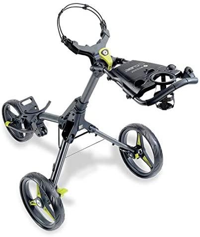 Motocaddy Cube 3 Wheel Golf Push Cart Lightweight Compact Two-Step Folding Golf Cart
